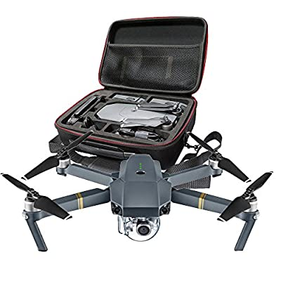 Ularma Hard Shell Waterproof Shoulder Box Suitcase Bag for DJI Mavic Pro RC Quadcopter