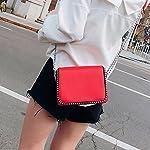 Neue PU-Leder Mehrschichtige Kleine Quadratische Tasche Damen Reisezentrum Einzelne Schulter Umhängetasche (20 * 8 * 15cm)