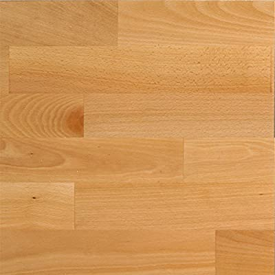 1 Paket (1,58 m²) 15mm Parkett Schiffsboden Buche elegant select lackiert - SONDERPOSTEN! -