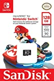 Carte microSDXC SanDisk 128 Go pour Nintendo Switch, avec Vitesse de Lecture Allant jusqu'à 100MB/S, U3