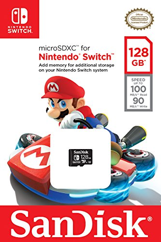 SanDisk Scheda di Memoria MicroSDXC per Nintendo Switch...