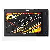 atFoliX Folie für Canon Digital IXUS 240 HS/PowerShot ELPH 320 Displayschutzfolie - 3 x FX-Antireflex-HD hochauflösende entspiegelnde Schutzfolie