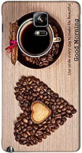 Timpax protective Armor Hard Bumper Back Case Cover. Multicolor printed on 3 Dimensional case with latest & finest graphic design art. Compatible with Samsung Galaxy Note 4 Design No : TDZ-26591