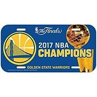 WinCraft Golden State Warriors 2017 NBA Champs License Plate Schild
