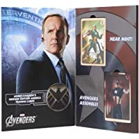Avengers Agent Coulson'S Vintage Marvel Capitan America Trading Cards Set