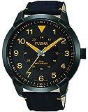 Pulsar Herren-Armbanduhr Analog Quarz Leder PG2023X1