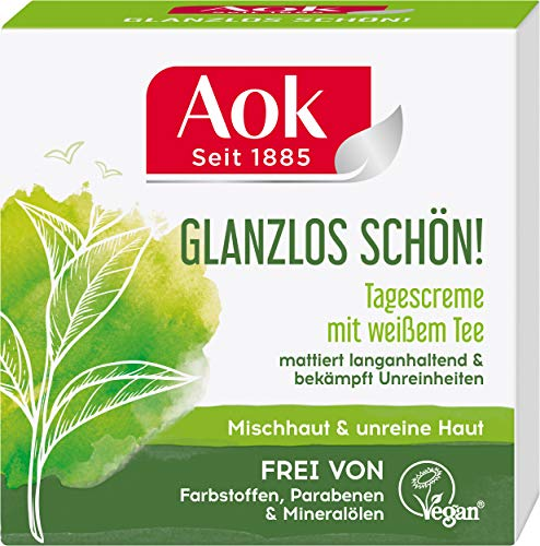 Aok Mattierende Tagespflege mit weißem Tee, 3 Stück (3 x 50 ml)