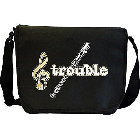 Recorder Treble Trouble - Sheet Music Document Bag Borsa Spartiti