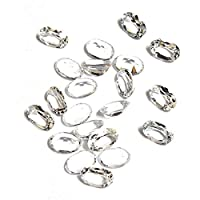 Be You Natural Nigerian White Topaz AA Quality 4x3 mm size Faceted Oval Shape 100 pcs Loose gemstones