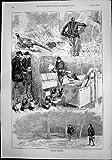 Gardien d'Élevage de Faisan Après des Oeufs de Faisans Multipliant 1892