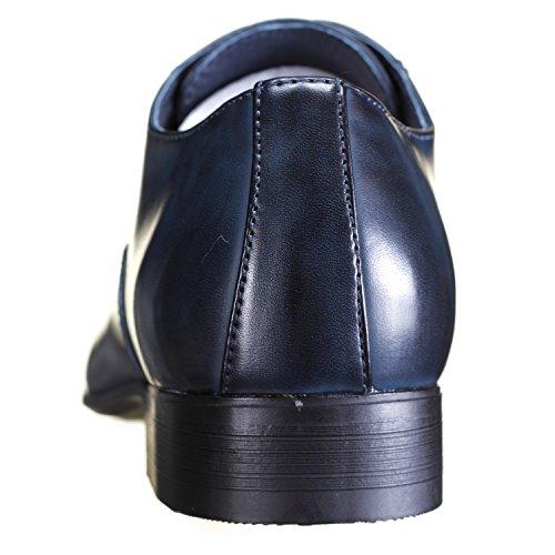 Galax - Chaussure Derbies Gh2352 Navy Bleu