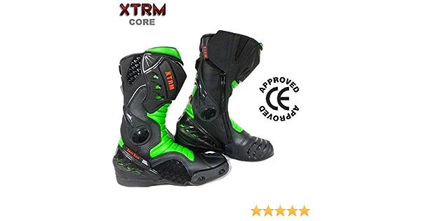 Motorrad XTRM Blade Motorradstiefel f/ür Erwachsene strapazierf/ähig Rennstiefel Schwarz//Gelb verst/ärkt