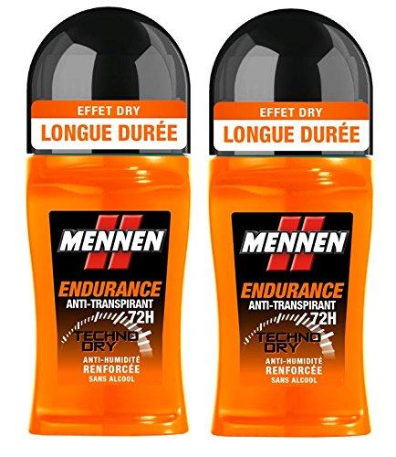 Mennen deodorante maschile Bille Endurance 72h 50ml - Lotto di 2