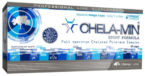 Preisvergleich Produktbild Olimp Nutrition Chela Min Sport 60 caps -- All in One Multi Mineral for Good Health