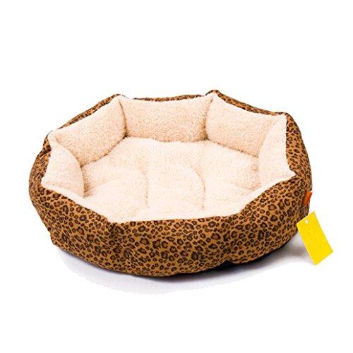 internet-leopard-print-cotton-pet-dog-cat-fleece-warm-bed-house-plush-cozy-nest-mat-yellow