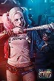empireposter 743756 Suicide Squad - Harley Quinn - Retro Druck Film Plakat, Papier, Mehrfarbig, 91,5 x 61 x 0,14 cm