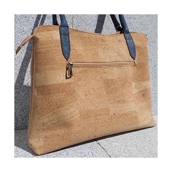 All cork handbag - handmade-bags