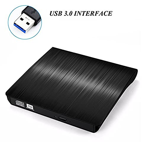Externes DVD Laufwerk( Umfassendes Upgrade ), BESTRUNNER USB 3.0 CD/DVD