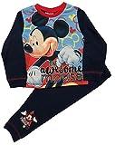 Boys Mickey Mouse Pyjamas Pjs Sleepwear Ages 1 to 4 Years (3-4 Years)