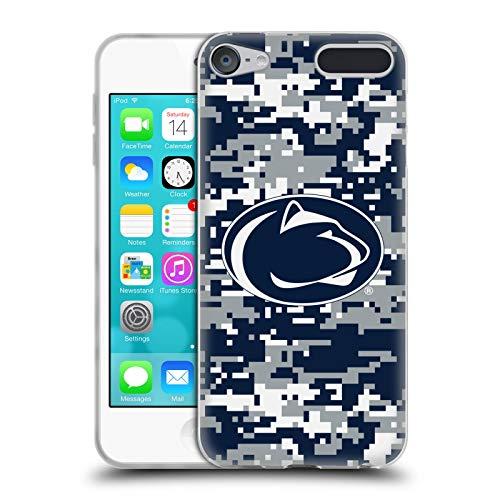 Head Case Designs Offizielle Pennsylvania State University PSU Digitales Camouflage Soft Gel Huelle kompatibel mit Apple iPod Touch 6G 6th Gen State University Ipod Touch