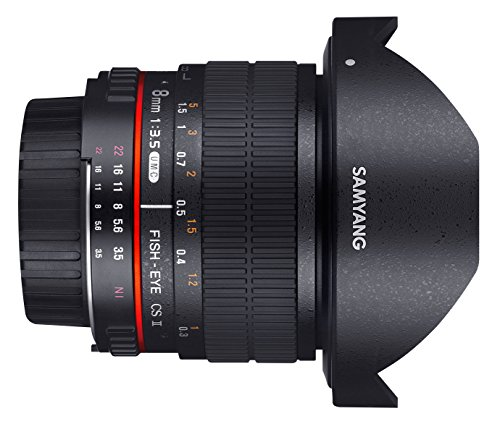 Affordable Samyang 8 mm F3.5 CS II lens for connection Reviews