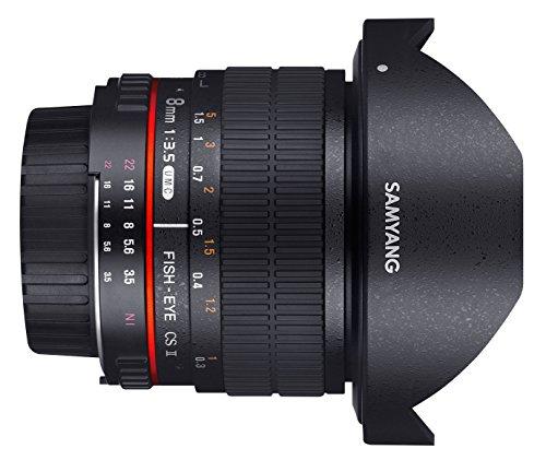 Samyang 8mm F3.5 CS II Objektiv für Pentax K - 2