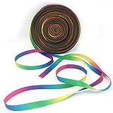 Arcobaleno nastro deco nastro raso regalo nastro fiocco nastro arcobaleno raso