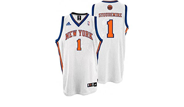 bd8be9a8 Buy NBA New York Knicks Amar'e Stoudemire Swingman Jersey (Blue, XX-Large)  Online at Low Prices in India - Amazon.in