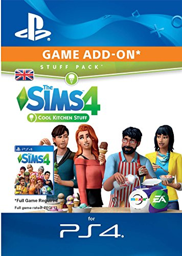The Sims 4   Cool Kitchen Stuff DLC | PS4 Download Code   UK Account