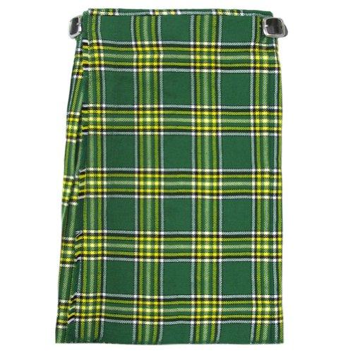 Tartanista - Jungen Scottish-Highland-Kilt - hochwertig - Irisch - Taille - 56 cm (22