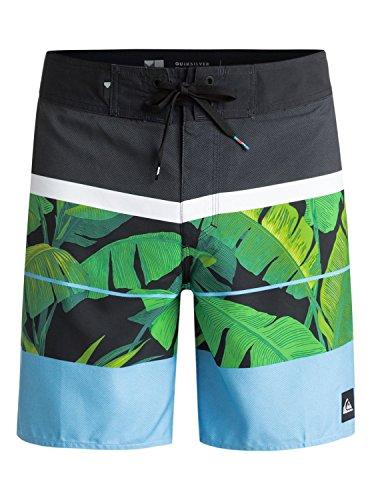 Quiksilver Eqybs03858 Slab Island 17″ Pantalones Cortos, Hombre