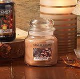 Yankee Candle 1519668E Ebony and Oak Kerze, Glas, sand, 9,5 x 9,5 x 13,8 cm