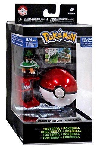 oice Catch n Return Pokeball Torterra & Poke Ball Figure Set ()