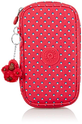 Kipling – 50 PENS – Estuche mediano – Pink Summer Pop – (Multi color)
