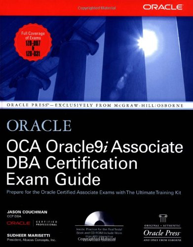 OCA Oracle9i Associate DBA Certification Exam Guide (Oracle Press Series) por Jason Couchman