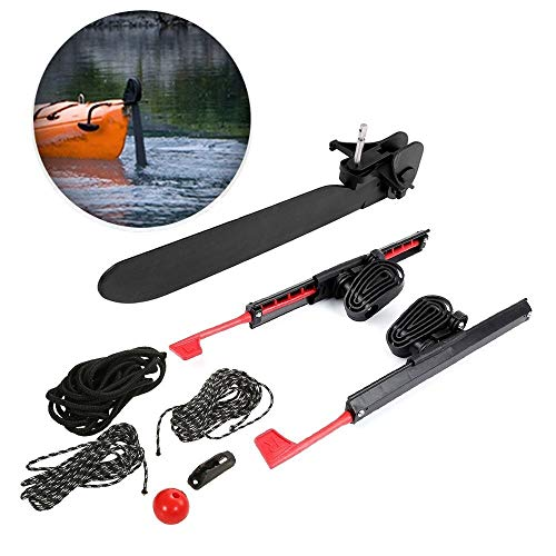 CPH20 2Pcs Ajustable Bloqueo Kayak Foot Braces Pedales