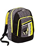 Zaino scuola advanced SEVEN - REBEL BOY - Nero - 30 LT - inserti rifrangenti