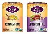 Yogi Tea DeTox Two Pack - Peach and Berry …