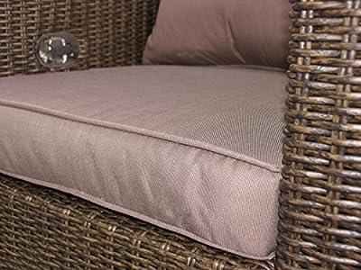 Lounge Sofa 3-sitzig Ibiza verstellbar von Famous Home bei Gartenmöbel von Du und Dein Garten