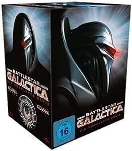 Battlestar Galactica - Season 1-4/Die komplette Serie [Blu-ray]