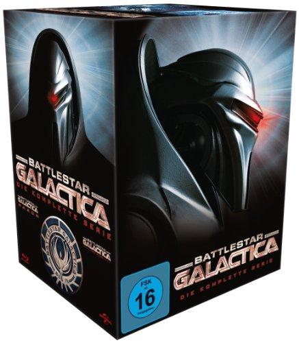 Battlestar Galactica – Season 1-4/Die komplette Serie [Blu-ray]