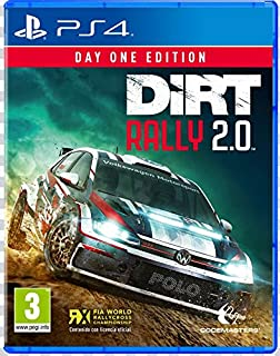 Codemasters - DiRT Rally 2.0 Day One Edition (PlayStation 4) (B07HYTVTDR) | Amazon price tracker / tracking, Amazon price history charts, Amazon price watches, Amazon price drop alerts