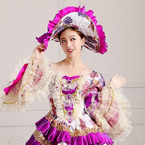 esign Vintage Gericht Kleid Frauen Kunst Kleidung Halloween Makeup Party Cosplay Kostüm ()