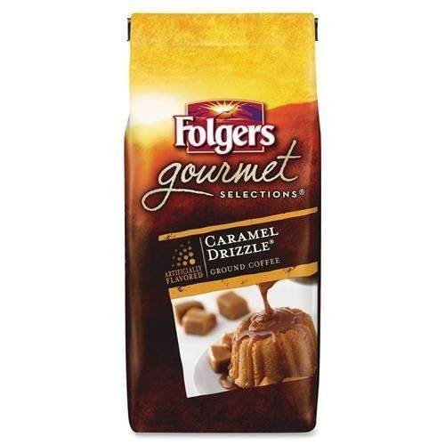 folgers-20145-gourmet-selections-coffee-ground-caramel-drizzle-10oz-bag-by-folgers
