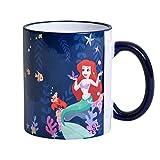 Arielle Disney tazza di bacio del vero amore di Elbenwald ceramica blu 320ml
