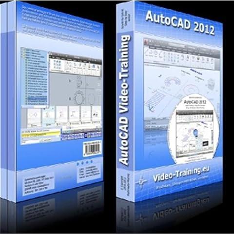 AutoCAD 2012 Video-Training: 12 Stunden Video-Training (Etwa 270 Videos). Für Windows 98/ME/2000/XP/Vista/Windows7. Incl. Übungen und Volltestversion (30 Tage Fristversion)