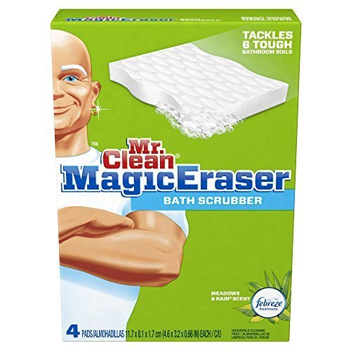mr-clean-magic-eraser-bath-scrubber-4-count-pack-of-2-by-mr-clean-english-manual