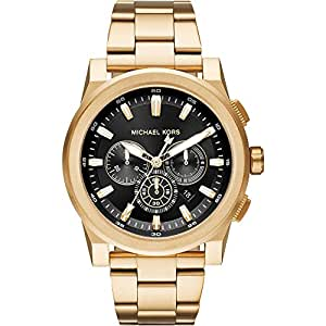 michael kors herren analog quarz uhr mit edelstahl armband. Black Bedroom Furniture Sets. Home Design Ideas