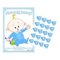 Wheres My Dummy? Baby Shower Game (Blue)