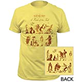 Genesis - Men ist ein Trick Of The Tail Einbau Jersey T-Shirts, X-Large, Banana